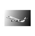 Jumbo jet plane vector