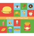 Fast food frame for web menu cafe and restaurant vector