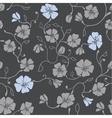 Renaissance floral seamless pattern vector