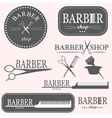 Barber logo vector
