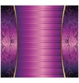 Hand drawn purple abstract background royal vector