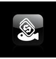 Fish buy icon vector