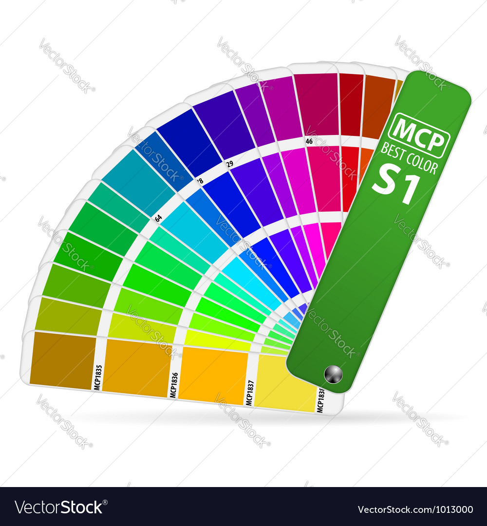 Color guide vector | Price: 1 Credit (USD $1)
