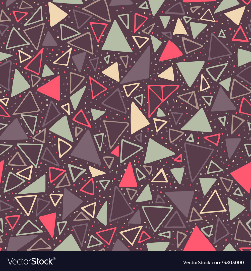 Geometric pattern seamless background with vector | Price: 1 Credit (USD $1)