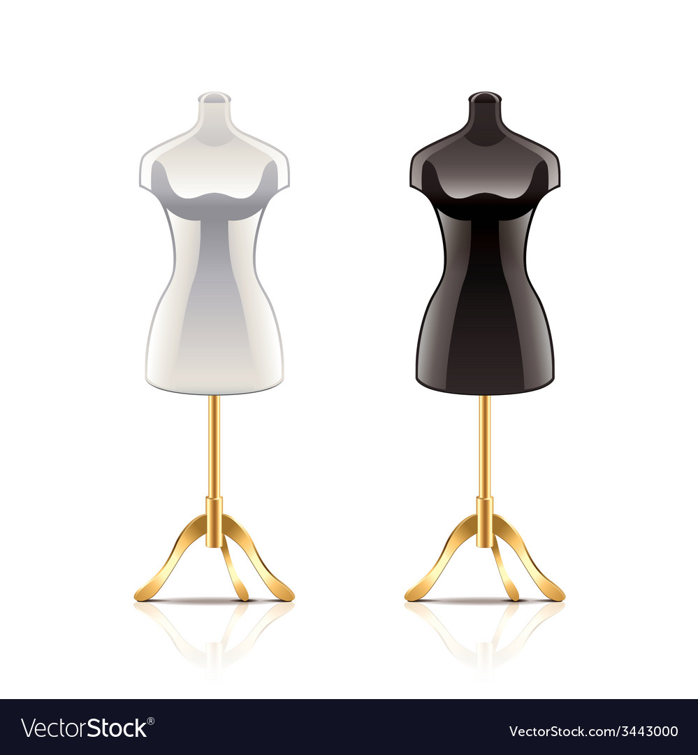 Mannequin isolated vector | Price: 1 Credit (USD $1)