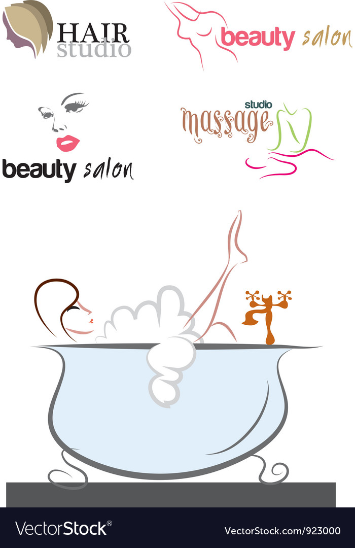 Massage sets vector | Price: 1 Credit (USD $1)