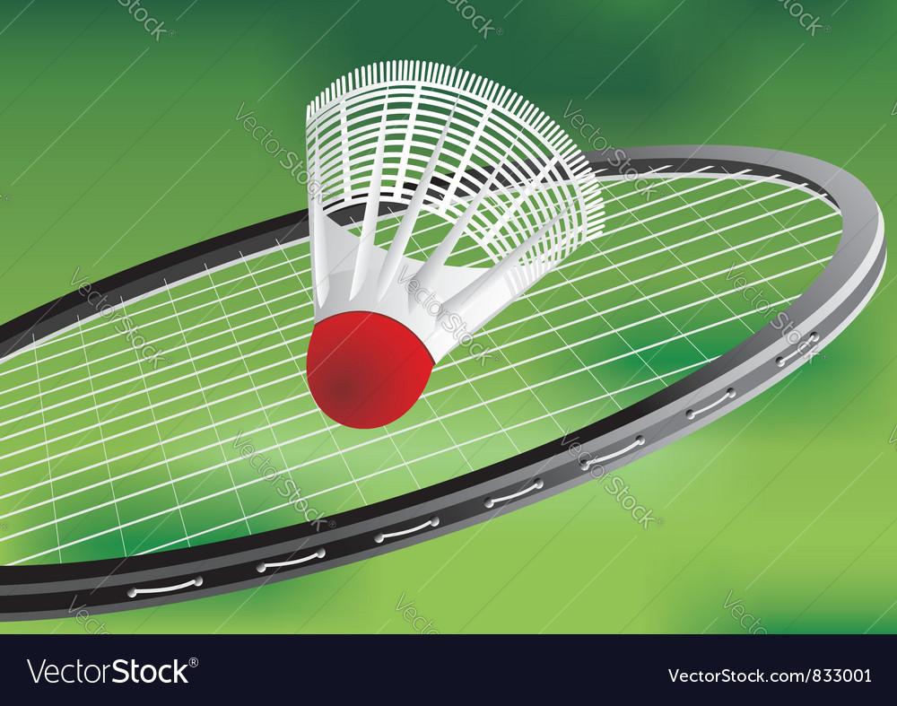 A tennis racket vector | Price: 1 Credit (USD $1)