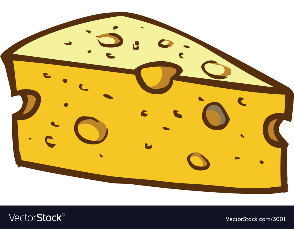 Delicious cheese vector | Price: 1 Credit (USD $1)