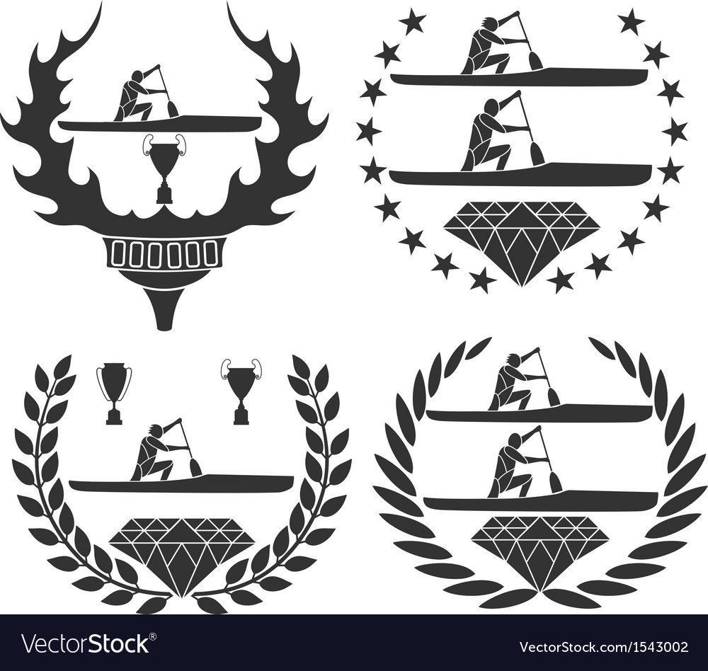Canoe vector | Price: 1 Credit (USD $1)