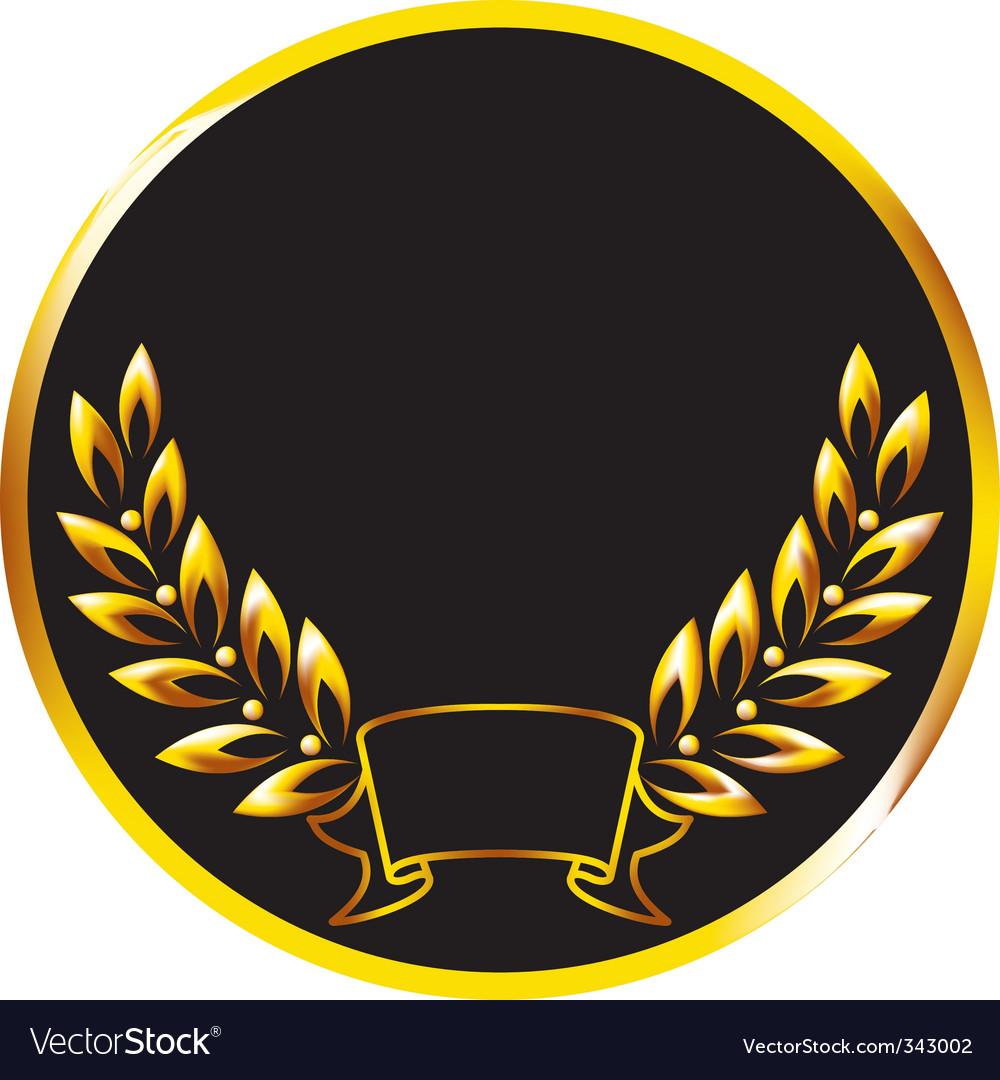Medallion vector