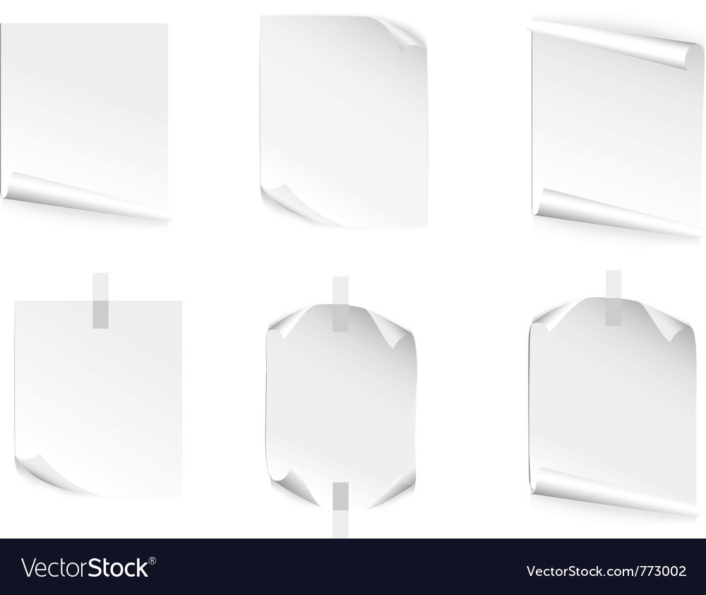 Pages vector | Price: 1 Credit (USD $1)