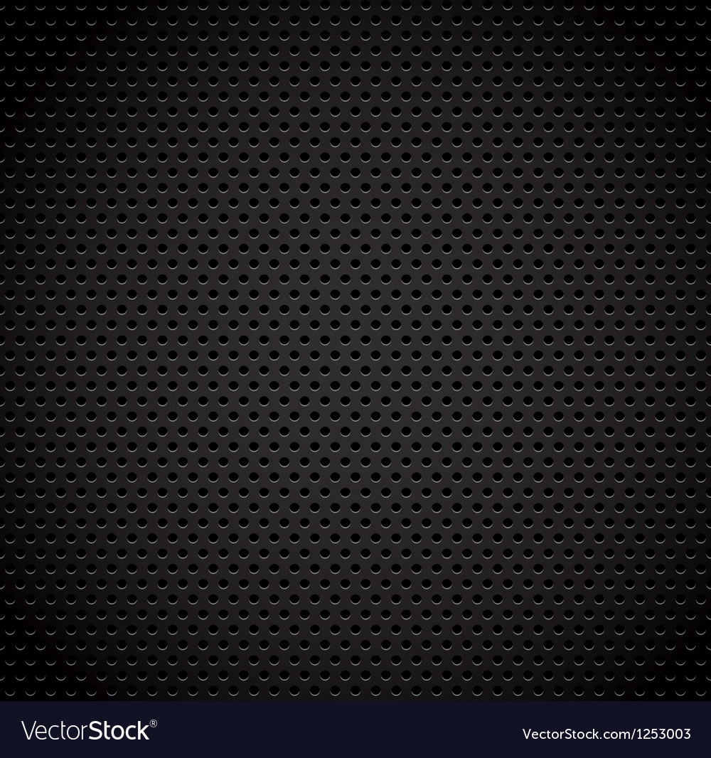 Black background of carbon fibre texture vector | Price: 1 Credit (USD $1)