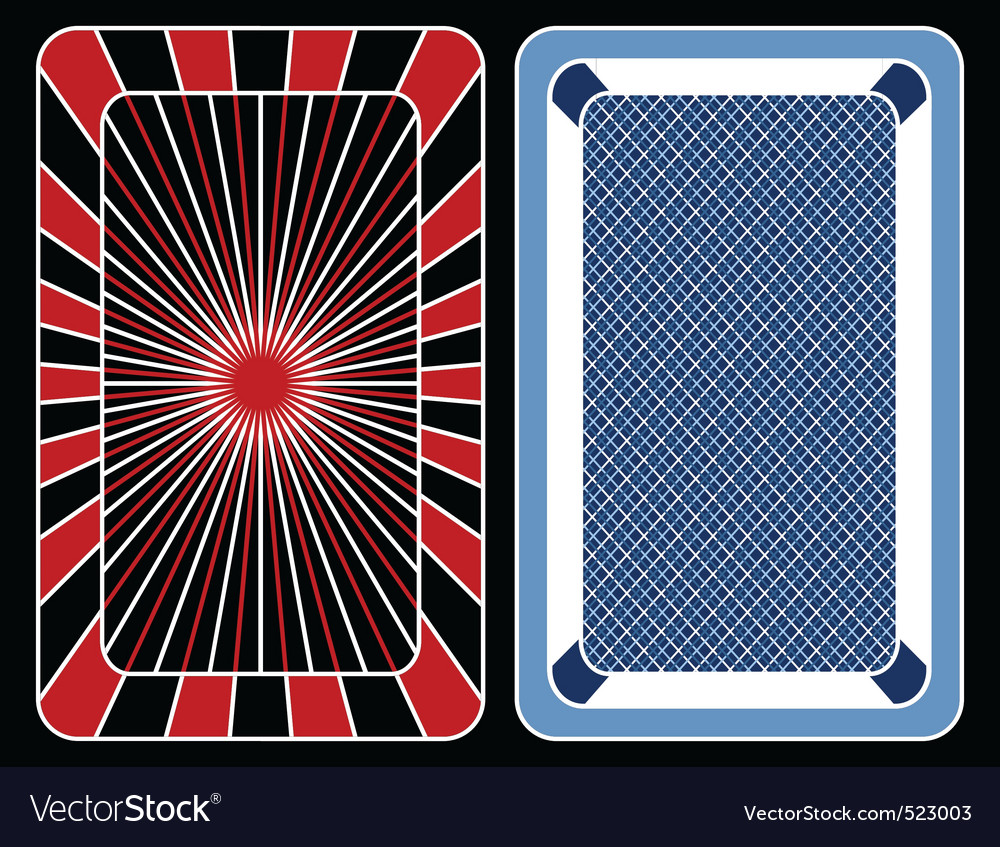 Cards playing vector | Price: 1 Credit (USD $1)