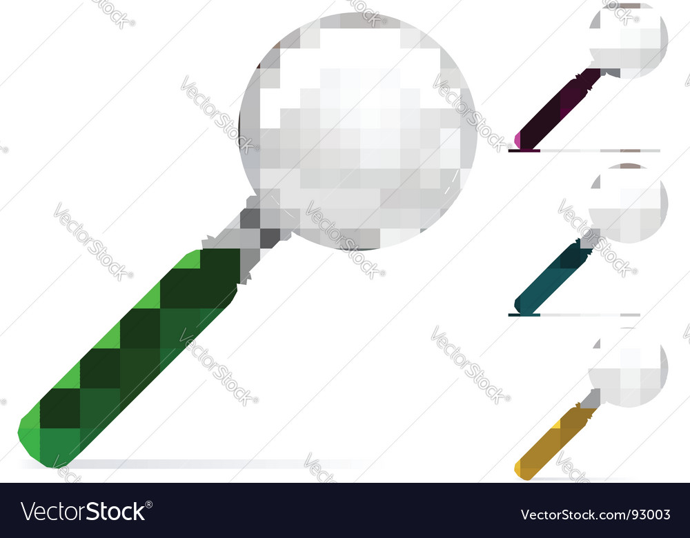 Magnifier illustration vector | Price: 1 Credit (USD $1)