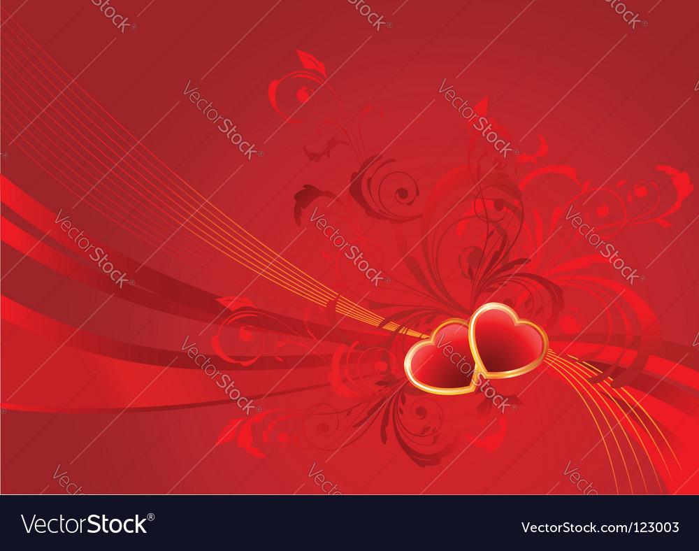 Valentine background vector | Price: 1 Credit (USD $1)