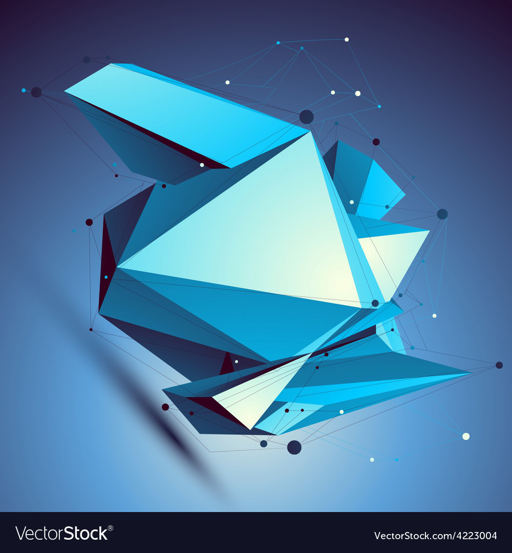 Blue contemporary technological misshapen vector   Price: 1 Credit (USD $1)