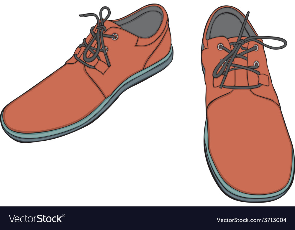 Cartoon shoes vector | Price: 1 Credit (USD $1)