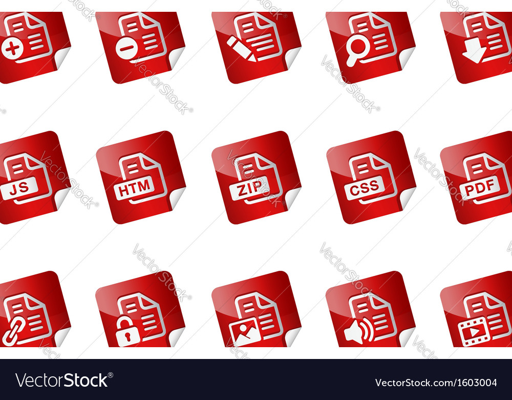 Documents stickers vector   Price: 1 Credit (USD $1)