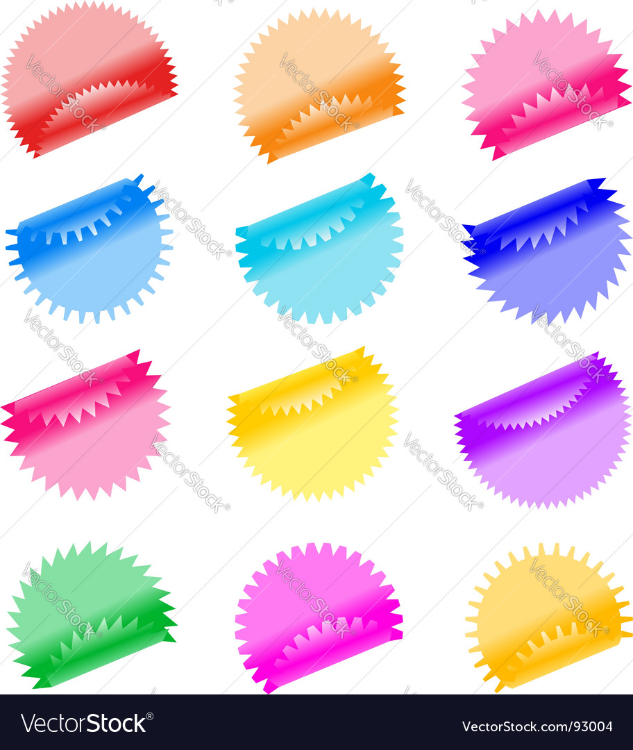 Labels badges and stickers vector | Price: 1 Credit (USD $1)