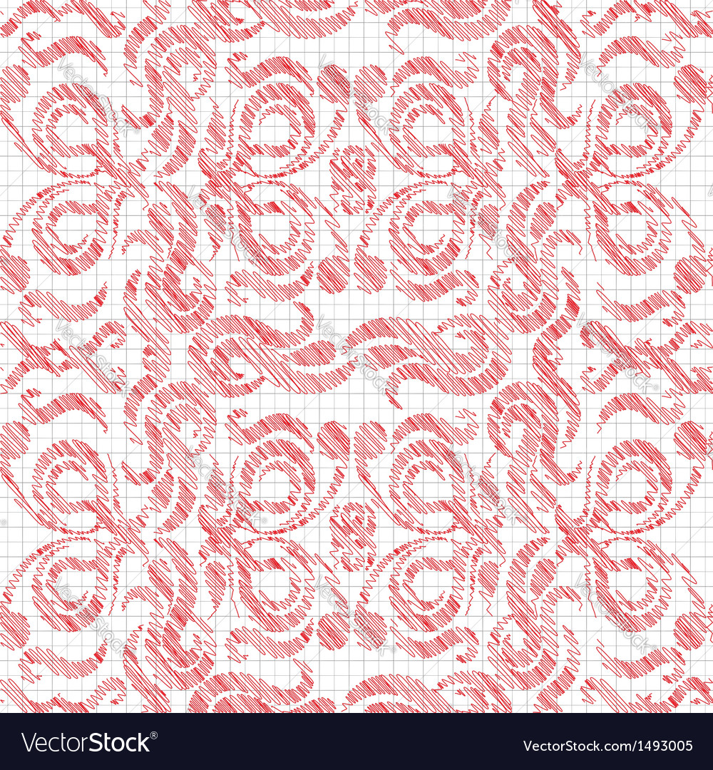 Drawn in red vector | Price: 1 Credit (USD $1)
