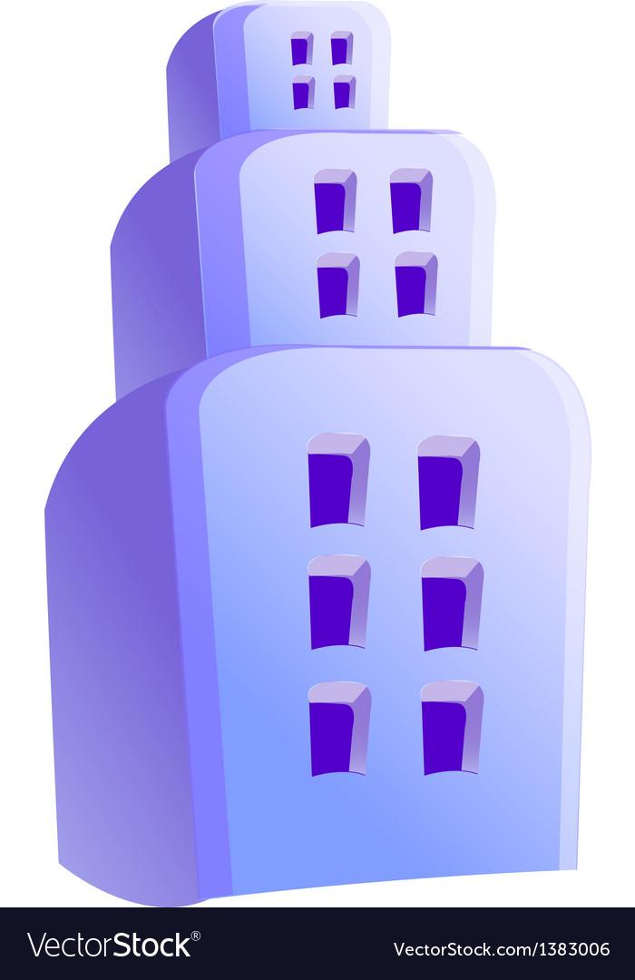 Icon building vector | Price: 1 Credit (USD $1)