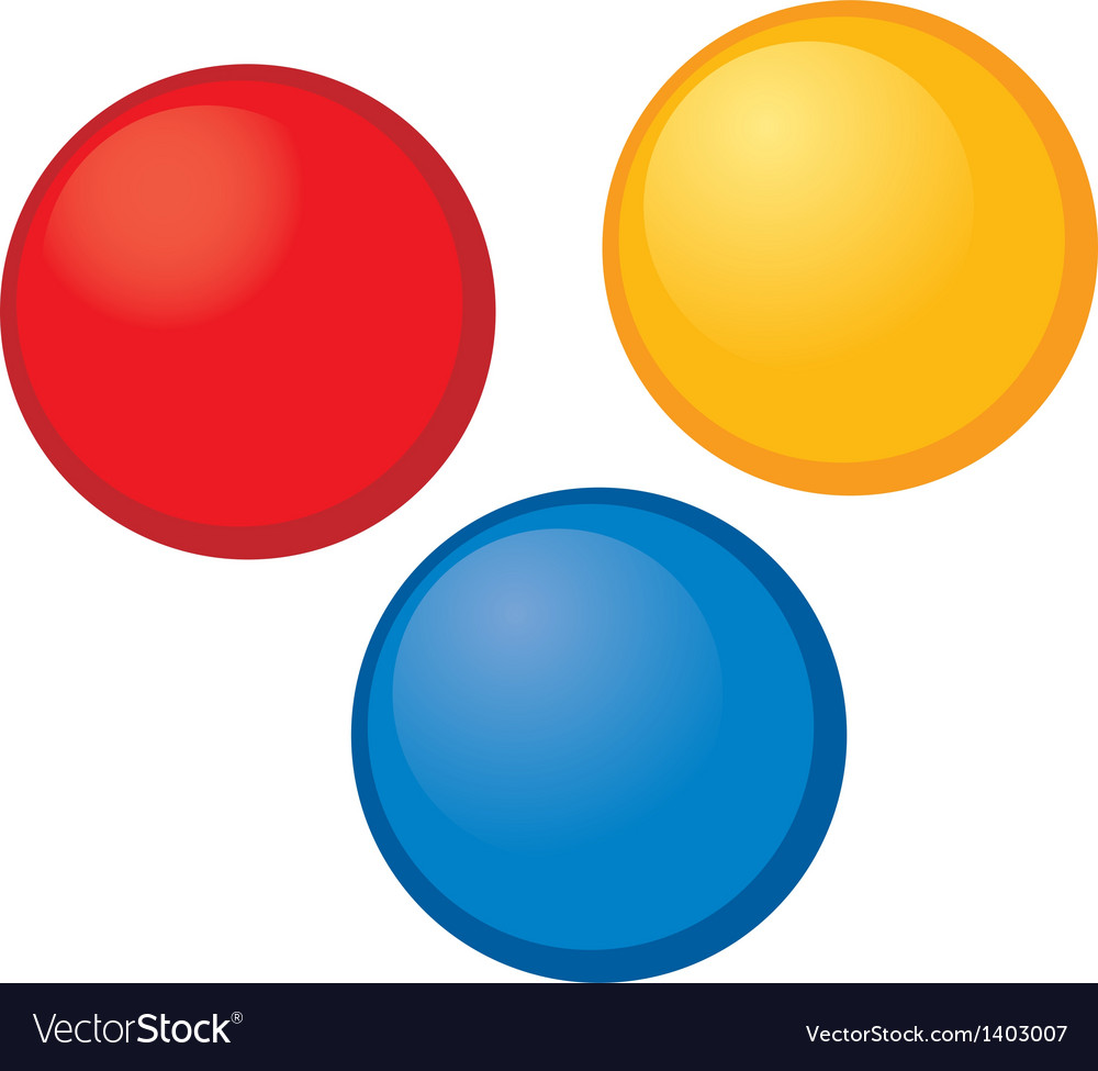A view of balls vector | Price: 1 Credit (USD $1)
