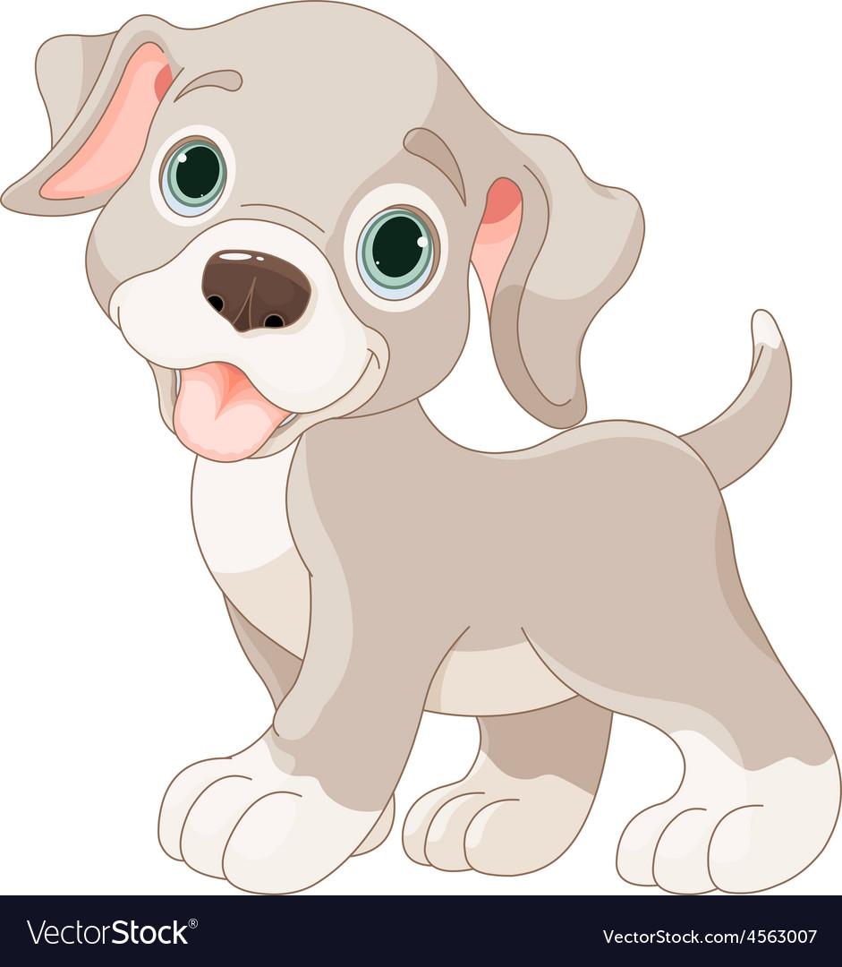 Cute puppy vector | Price: 3 Credit (USD $3)