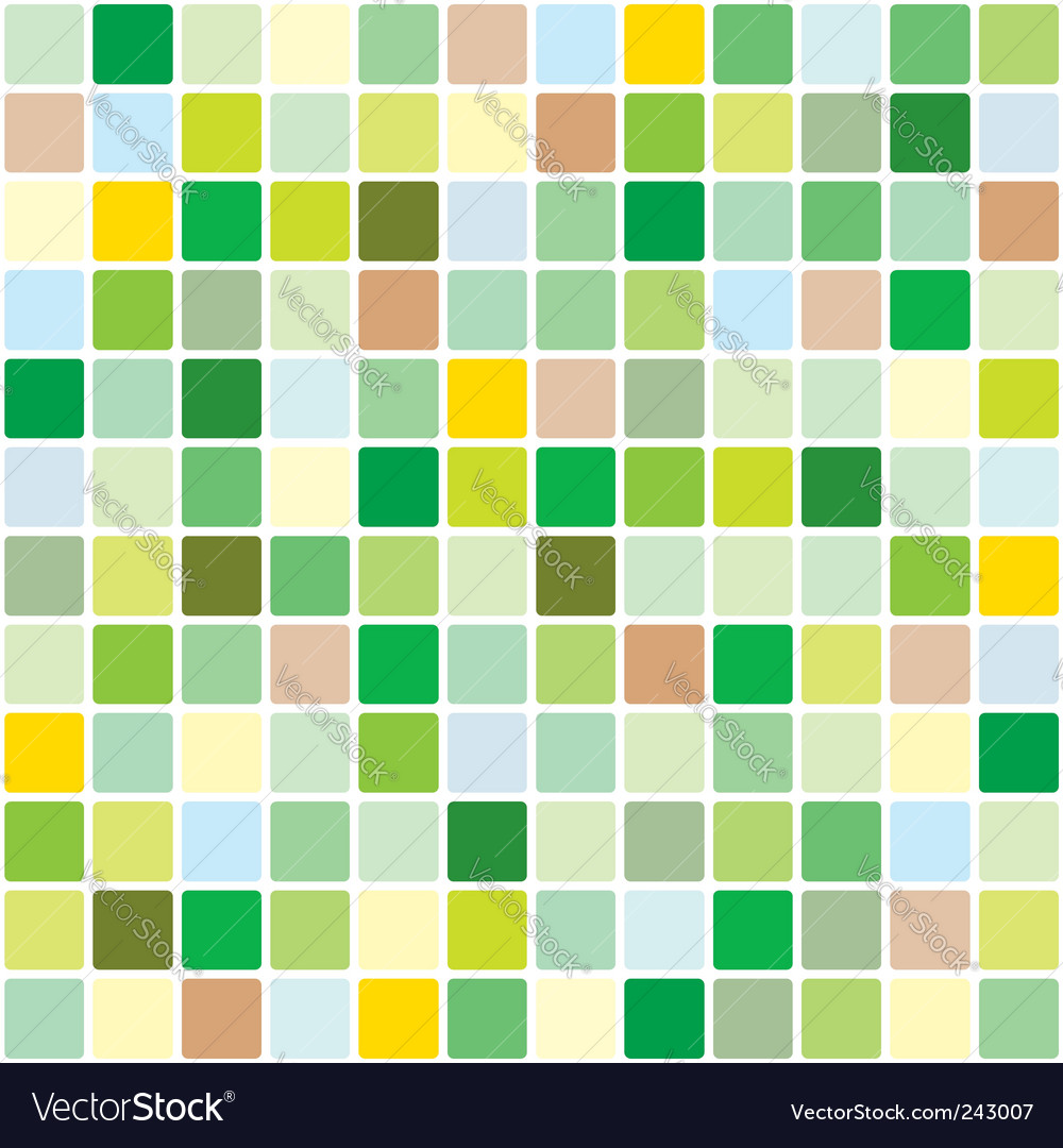 Springtime mosaic pattern vector | Price: 1 Credit (USD $1)