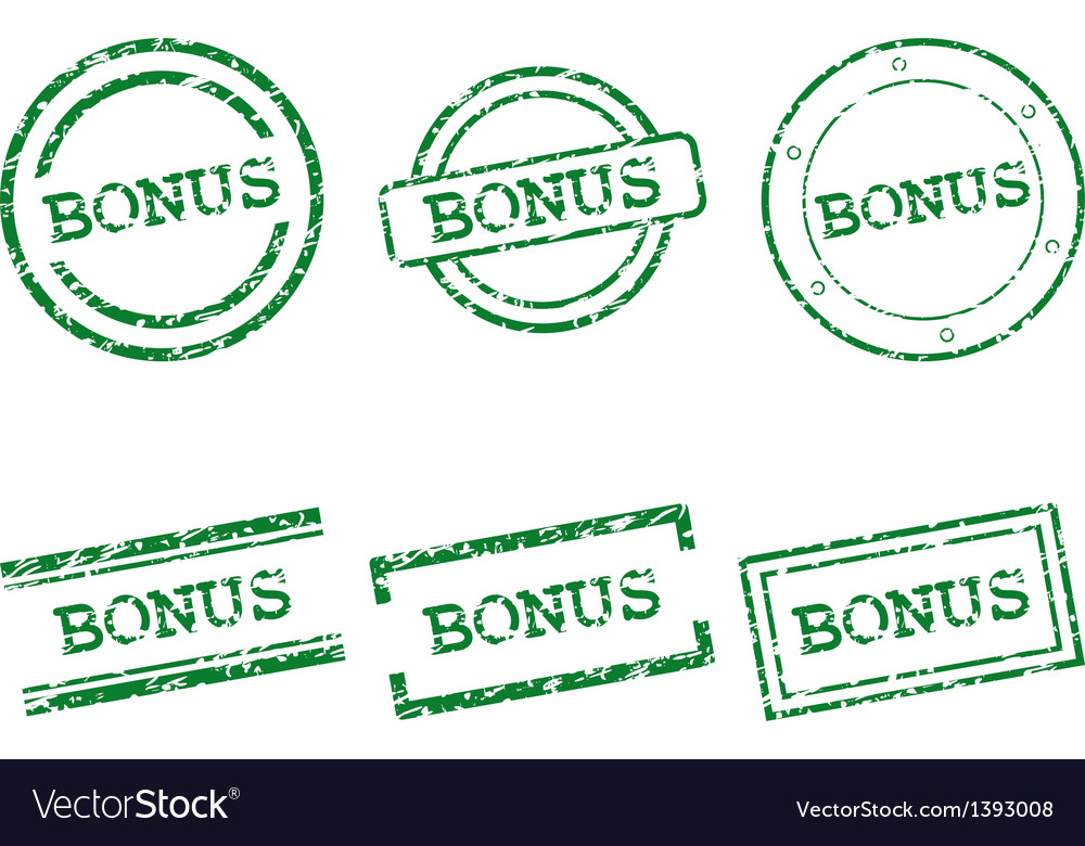 Bonus stamps vector | Price: 1 Credit (USD $1)