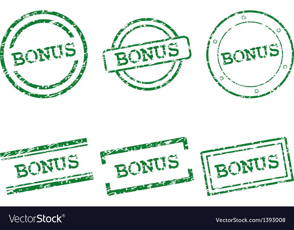 Bonus stamps vector | Price: 1 Credit (USD $1)