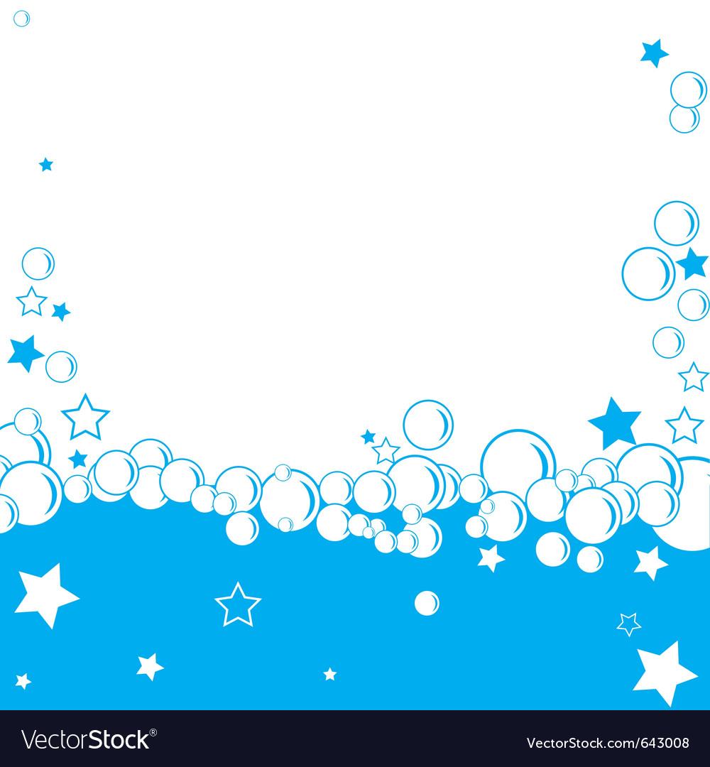 Bubble border vector | Price: 1 Credit (USD $1)