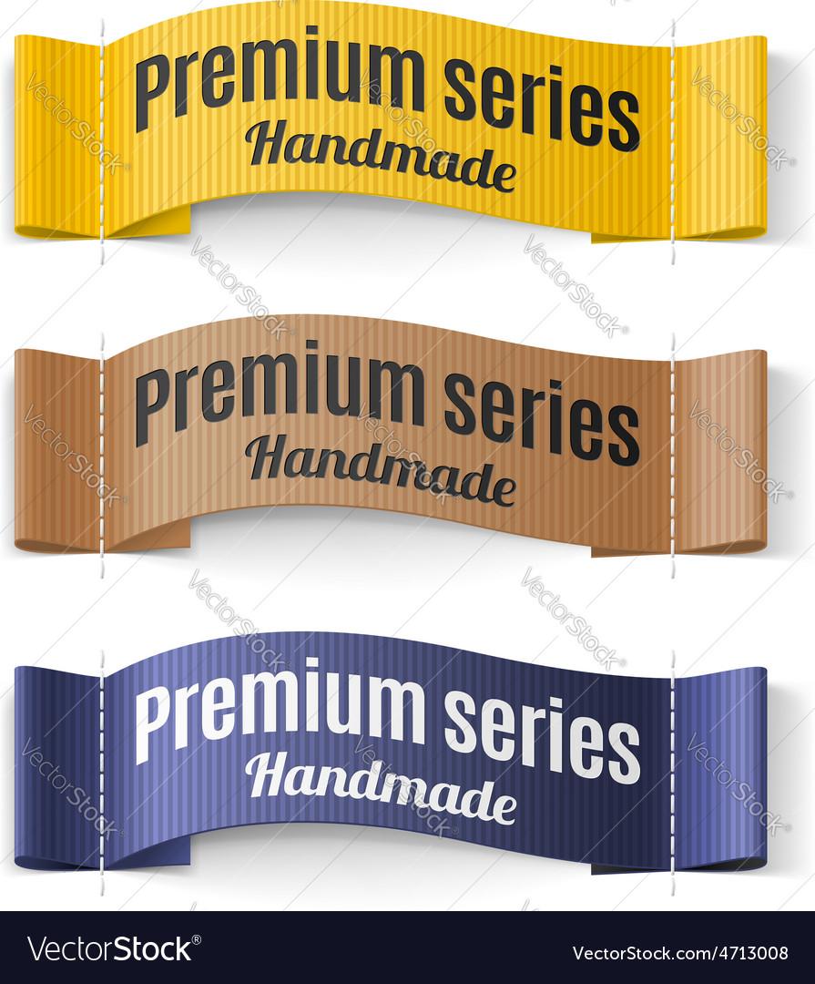 Labels premium series vector   Price: 1 Credit (USD $1)