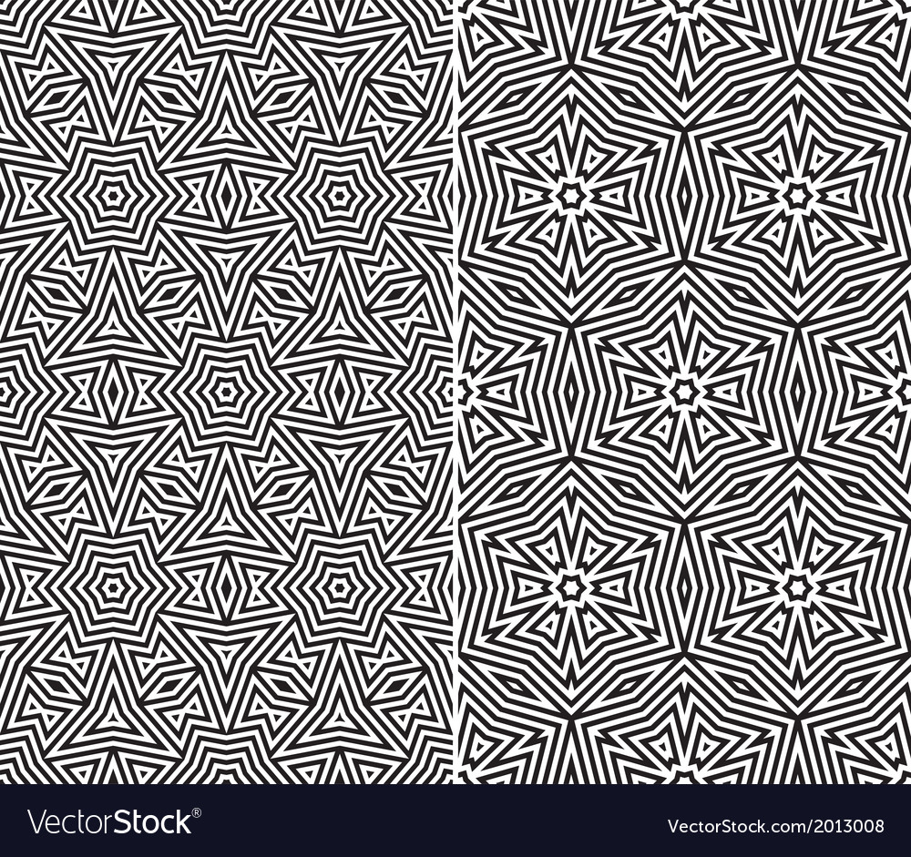 Seamless floral patterns vector | Price: 1 Credit (USD $1)