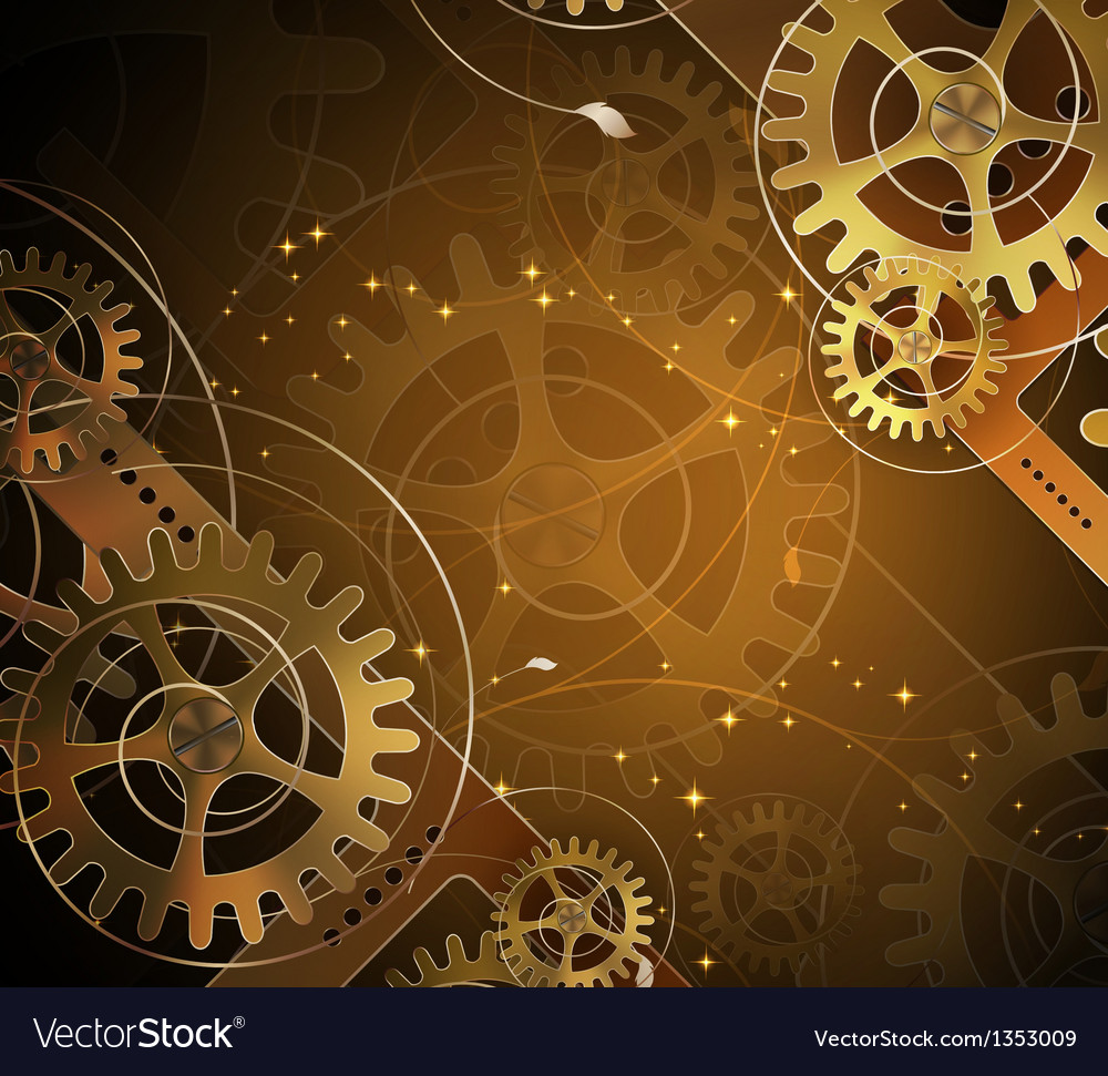 Abstract mechanical background vector | Price: 1 Credit (USD $1)
