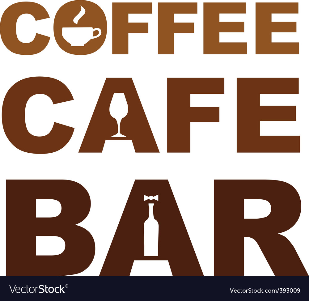 Coffee cafe bar vector | Price: 1 Credit (USD $1)