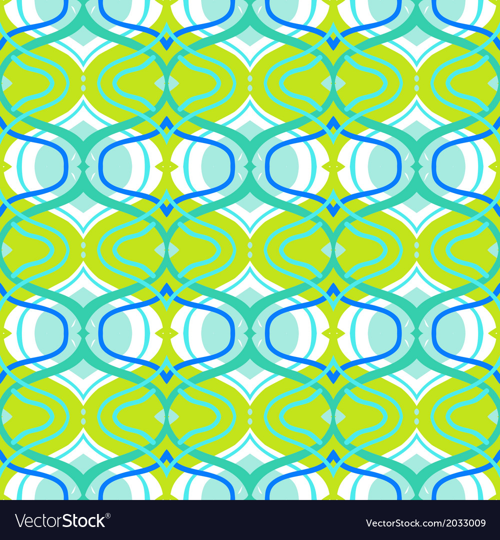 Ethnic pattern with arabic motifs vector | Price: 1 Credit (USD $1)
