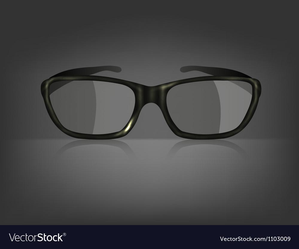 Fashion glasses vector | Price: 1 Credit (USD $1)