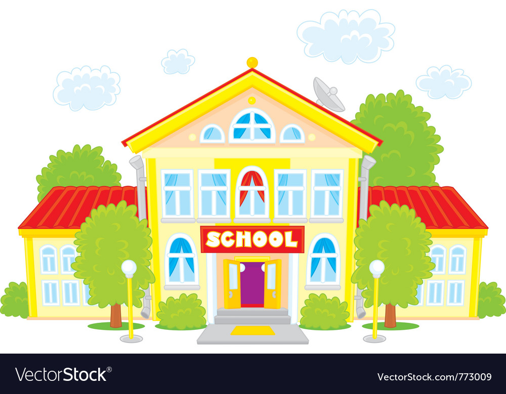 School vector | Price: 3 Credit (USD $3)