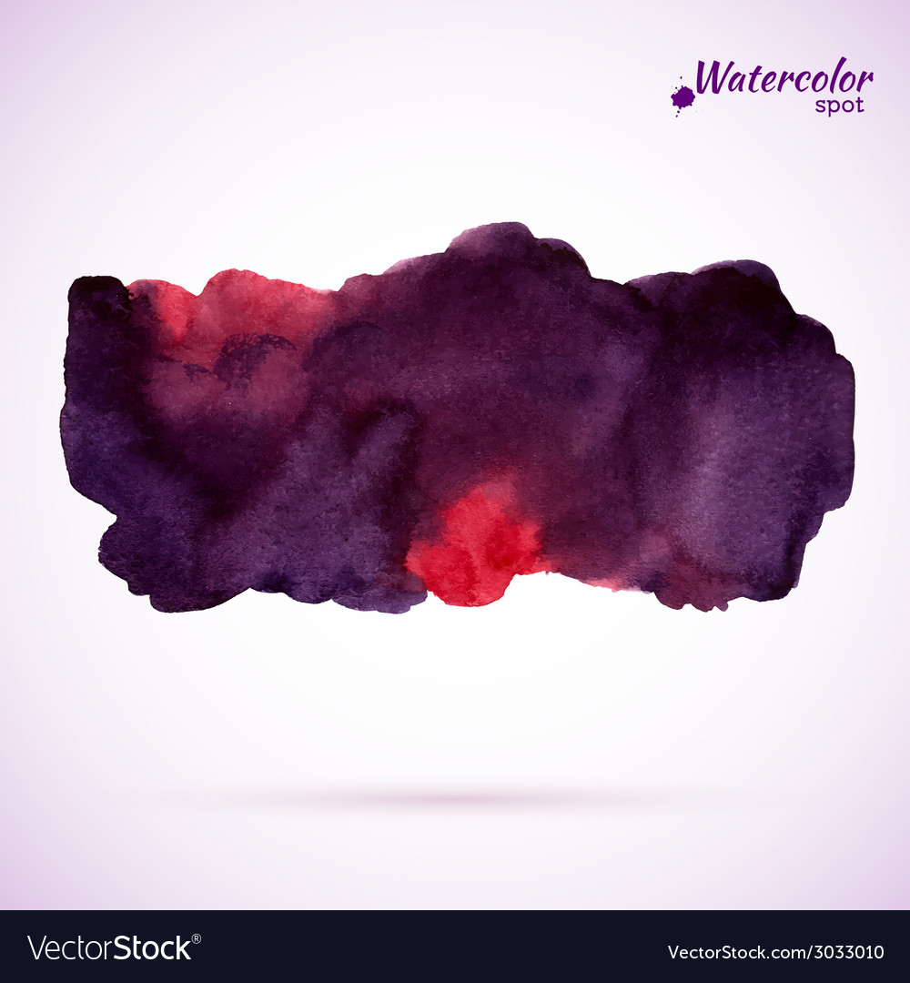 Abstract watercolor splash vector | Price: 1 Credit (USD $1)