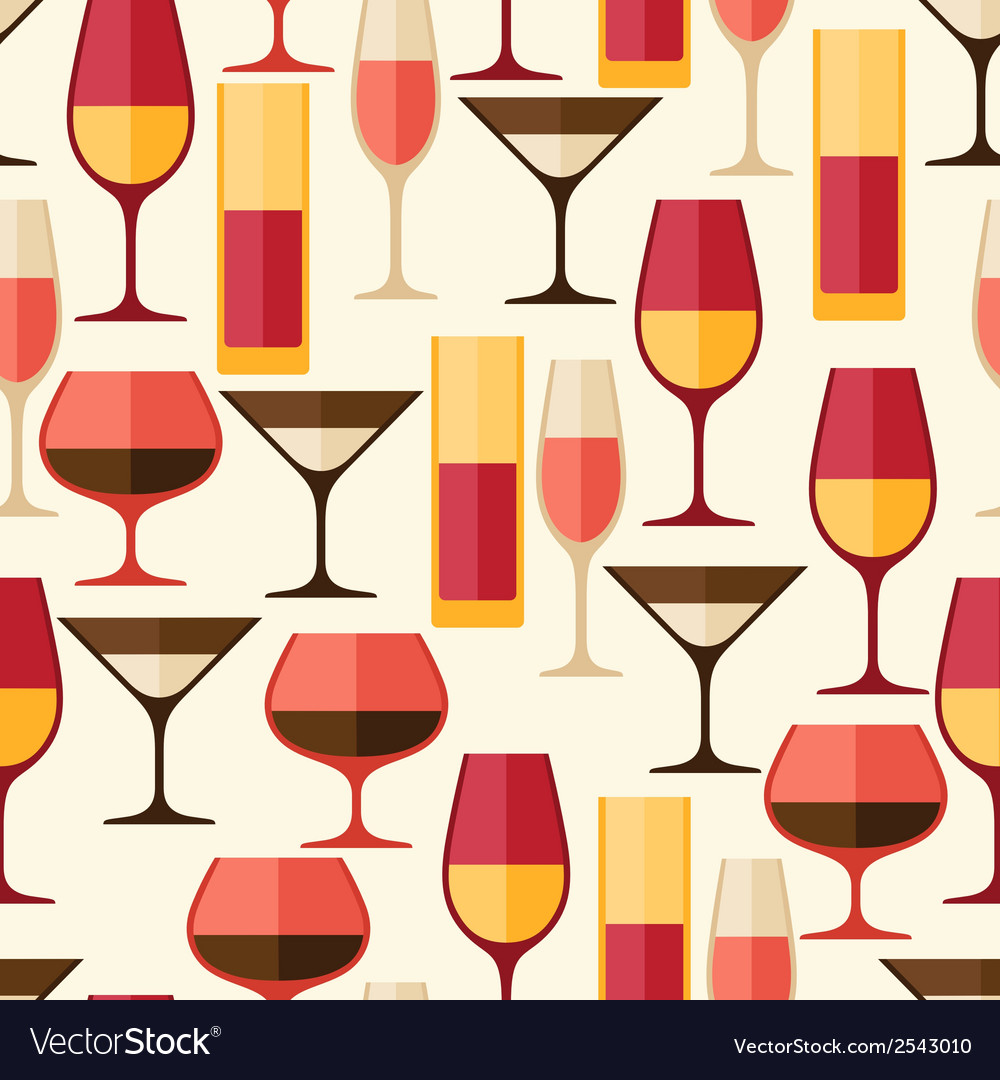 Restaurant or bar seamless pattern with different vector   Price: 1 Credit (USD $1)