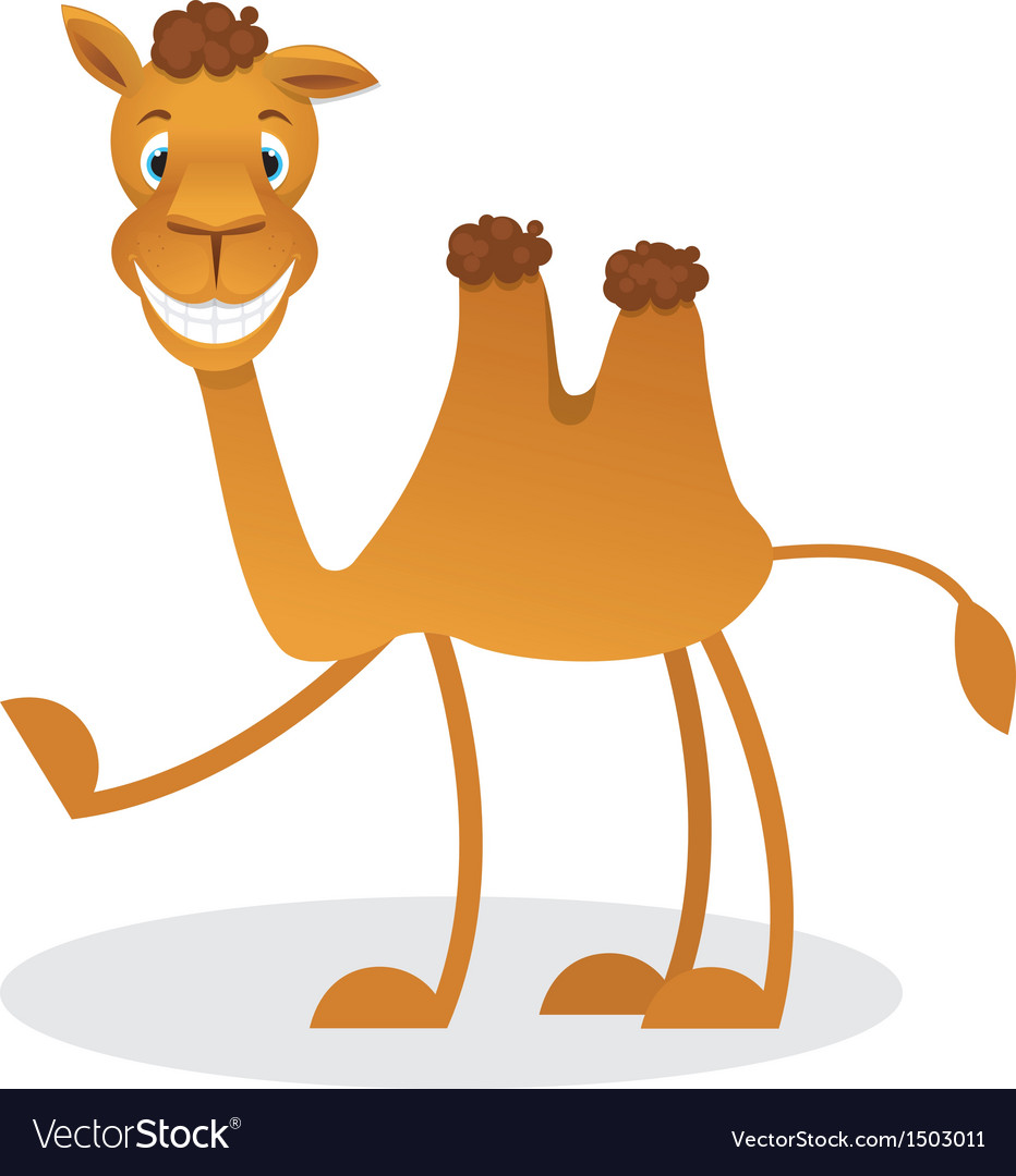 Cartoon camel vector | Price: 1 Credit (USD $1)