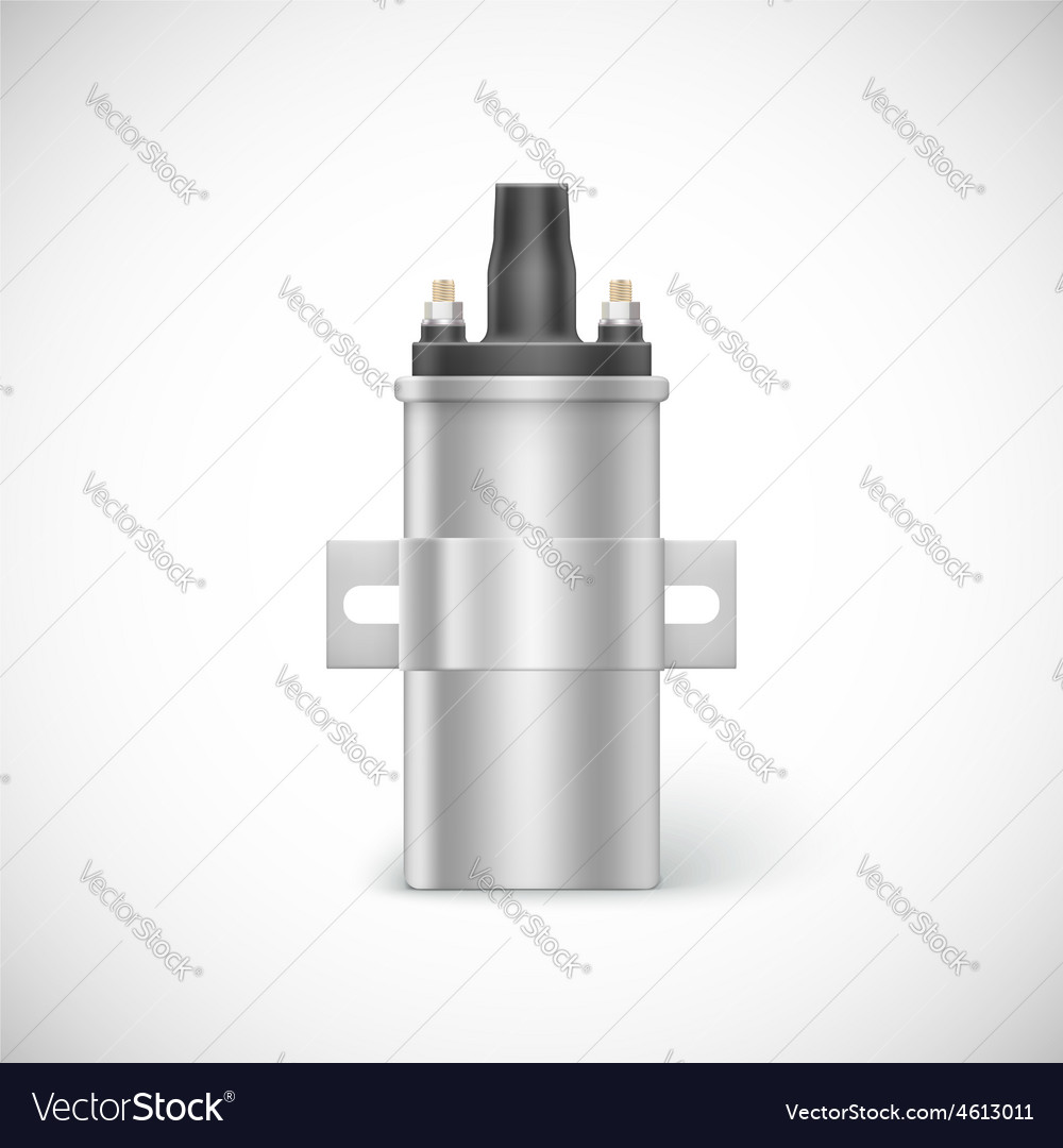 Igniter coil car part vector | Price: 3 Credit (USD $3)