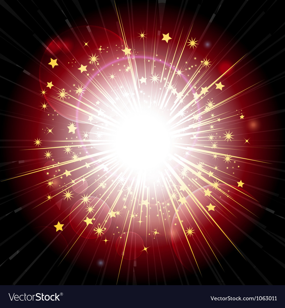 Red and gold light explosion vector   Price: 1 Credit (USD $1)