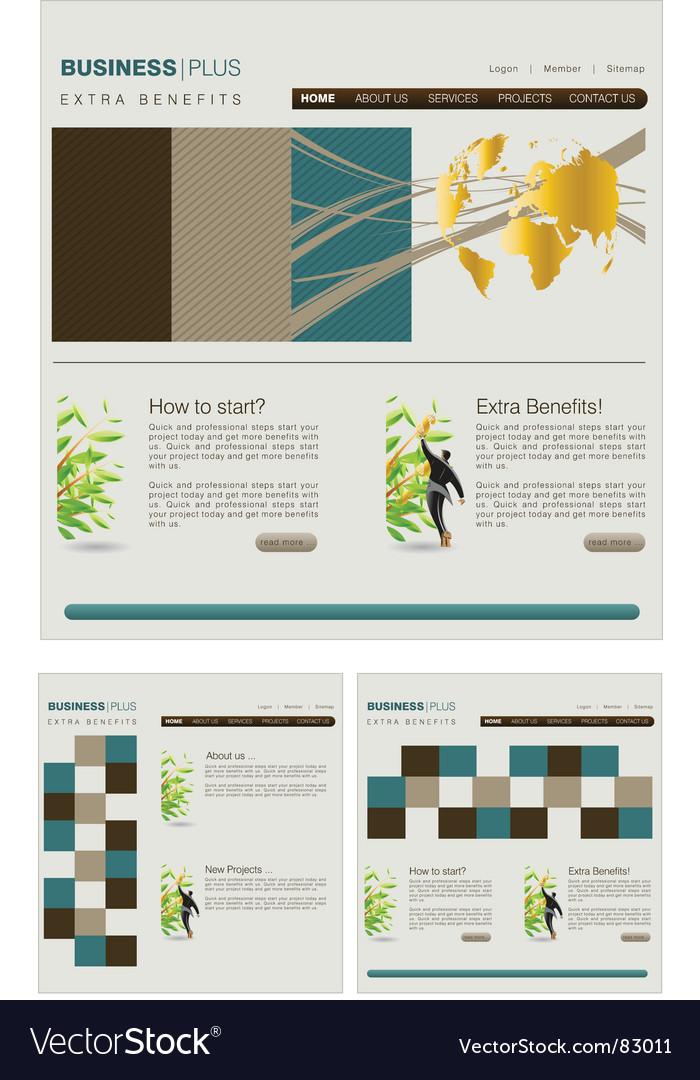 Web template vector | Price: 1 Credit (USD $1)