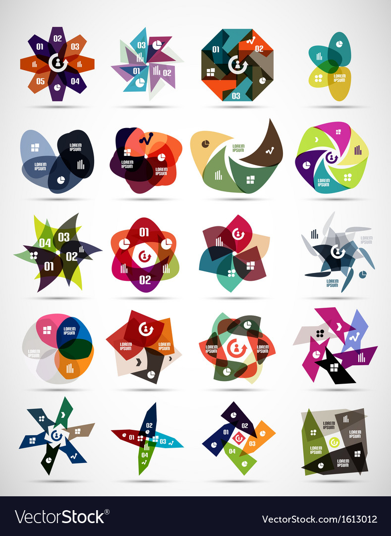 Abstract modern business concepts infographics vector | Price: 1 Credit (USD $1)