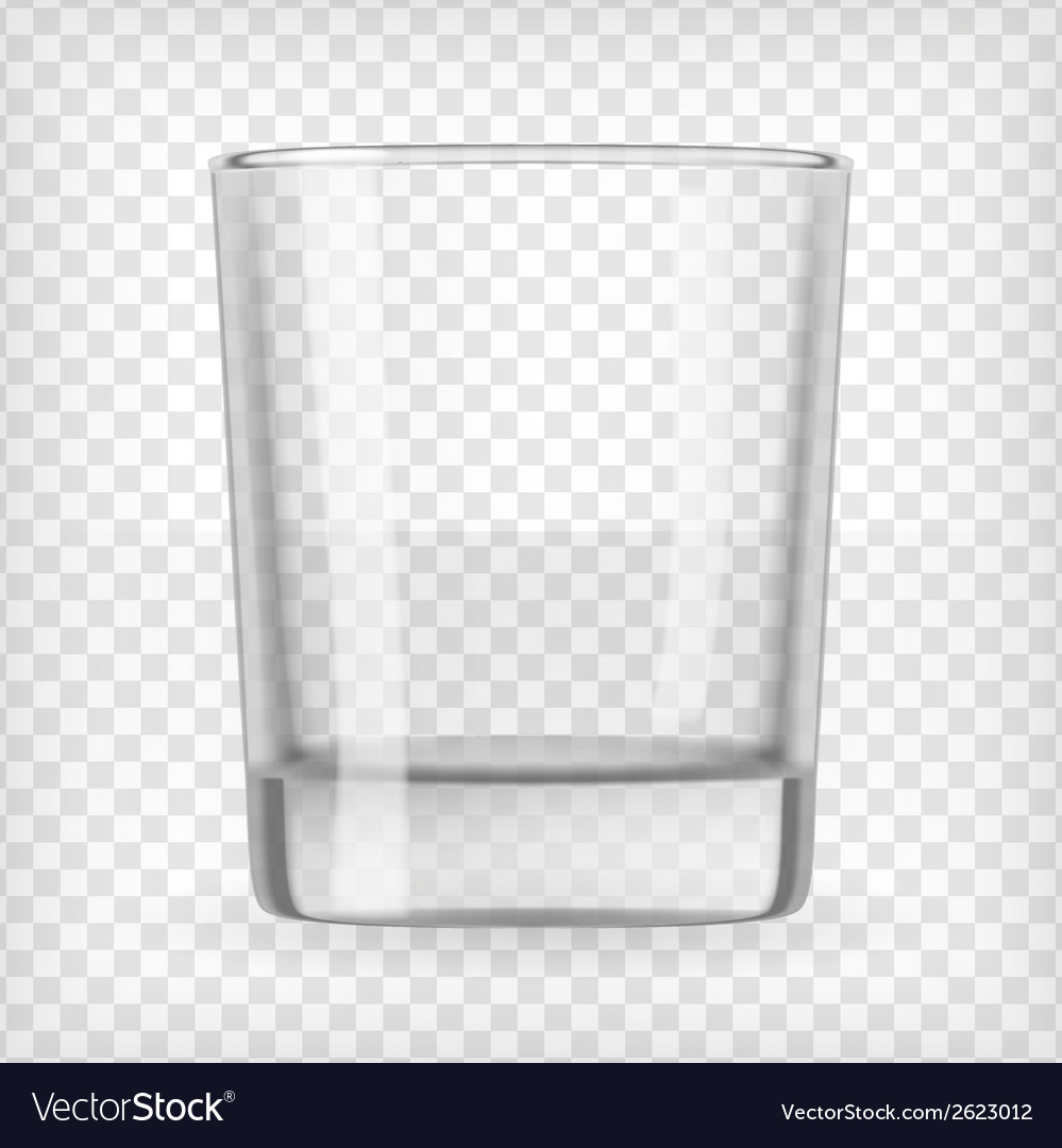 Empty glass vector | Price: 1 Credit (USD $1)