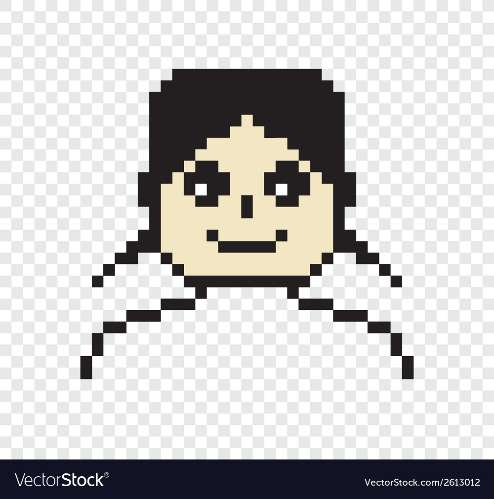 Pixel person vector | Price: 1 Credit (USD $1)