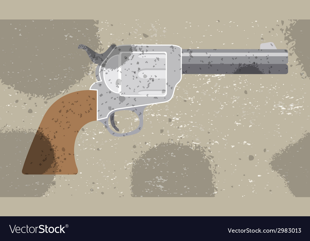 Revolver retro background  pattern for textile vector | Price: 1 Credit (USD $1)