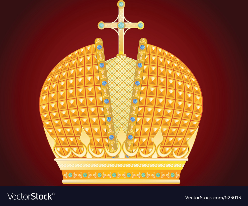 Royal gold crown vector | Price: 3 Credit (USD $3)