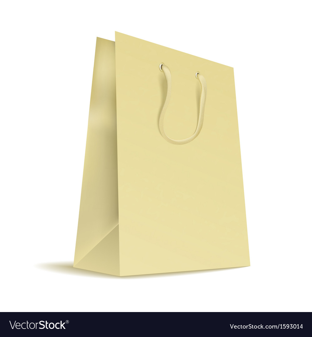 Carrier paper bag vector | Price: 1 Credit (USD $1)